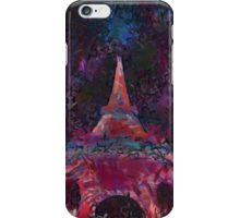 Fireworks at Eiffle Tower Paris iPhone Case/Skin