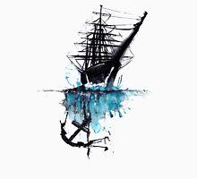 Rigged Sail Ship Watercolor T-Shirt