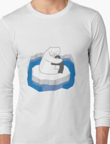 Polar Bear Hug Long Sleeve T-Shirt