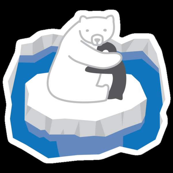 Polar Bear Hug by pencilplus