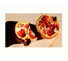 Pomegranate, Samos, Greece Art Print