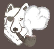 Smoking Wolf by pencilplus