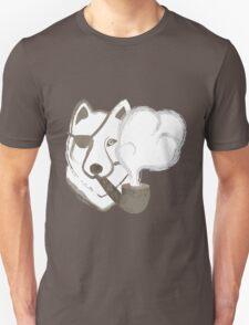 Smoking Wolf Unisex T-Shirt