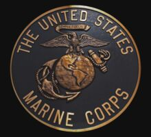 US Marine Corp T-Shirt by Karl R. Martin