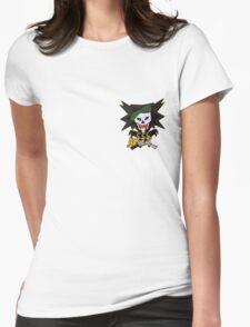 Command control central sm Womens Fitted T-Shirt