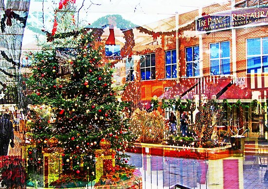 Christmas Inside outside  by Rick  Todaro
