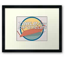 Tableflip Chronicles Orig. Logo Framed Print