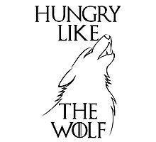 Hungry Like the Wolf - 1 Photographic Print