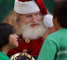 Children and Santa by loiteke