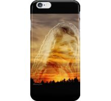 Laura ~ the Face in the Misty Light  iPhone Case/Skin