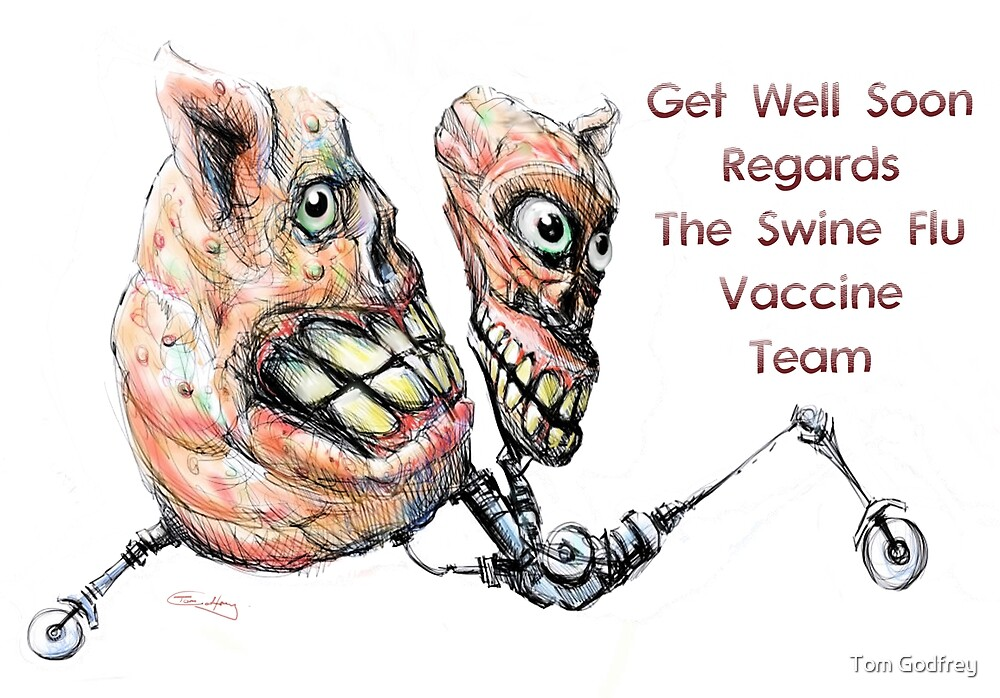 Get Well Soon by Tom Godfrey