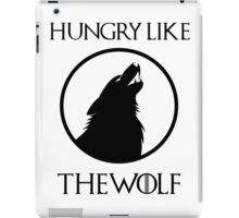 Hungry like the wolf - 2 iPad Case/Skin