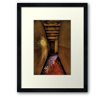 What Dwells Within ,,, are you being watched? - Tarban Creek Lunatic Asylum - The HDR Experience Framed Print
