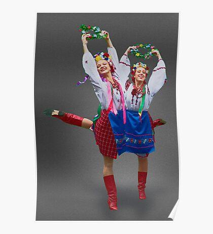 Ukrainian Dancers Poster
