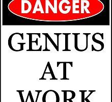 Danger - Genius at work by RixzStuff