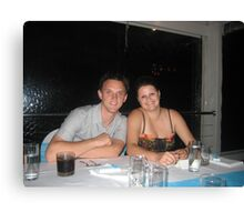 Chris and Stacey Canvas Print
