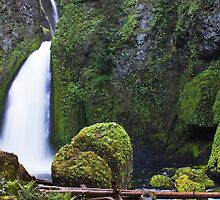 Wahclella Falls by Julia Washburn