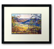 Towards Broadford Framed Print
