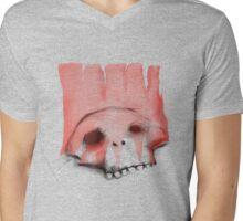 red flag Mens V-Neck T-Shirt
