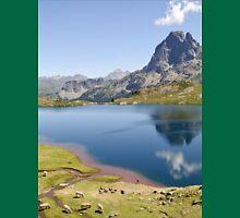 an inspiring Andorra landscape Unisex T-Shirt