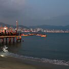 Acapulco Bay in the evening by Rhonda  Thomassen