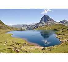an inspiring Andorra landscape Photographic Print