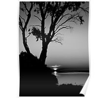 Sunset at Lake Connawarre - Geelong Poster