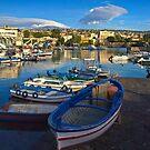 L'Etna dal porto di Ognina by Andrea Rapisarda