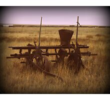 Old Seeder Photographic Print