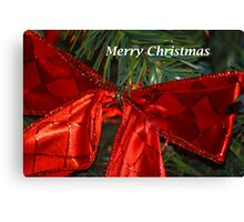 The Red Bow Canvas Print
