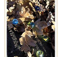 Loosing My Marbles III (White) by Quinton Hoover
