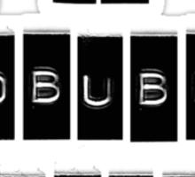 I AM A REDBUBBLE ADDICT Sticker