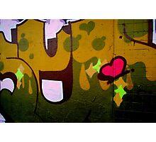 i heArt aRT Photographic Print