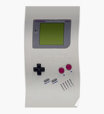 Gameboy cover Poster
