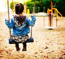 silence in the swing by Carol Yepes