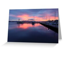 Hobart, Sunrise Greeting Card