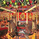 Carousel Reindeer by Walt Conklin