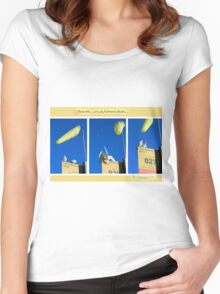The locals of Lady Robinsons Beach  Women's Fitted Scoop T-Shirt