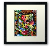 MOVIE STAR Framed Print