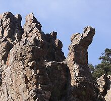 Rock Towers by Roz Fayette