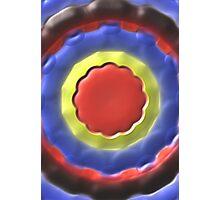 Modern circle colorful pattern Photographic Print