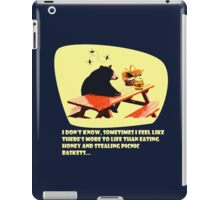 Bear - More to life iPad Case/Skin