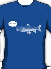 foux du fafa - white ink edition T-Shirt