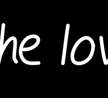 All the love. H (white letters) by bandaddictanl