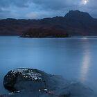 Torridon moonlight, Scotland by Michael Marten