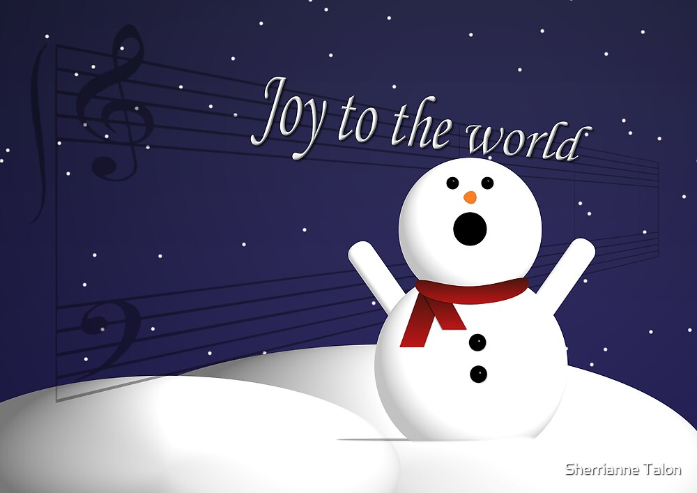 Snowman Song by Sherrianne Talon