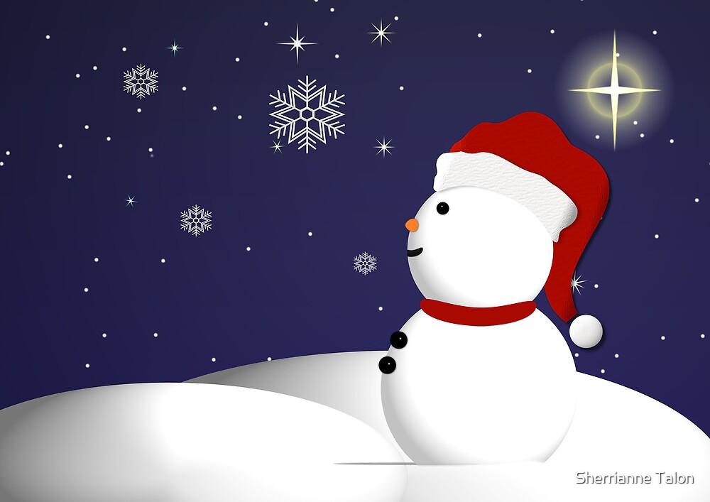 Wonder of Snowman by Sherrianne Talon