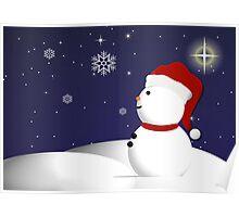 Wonder of Snowman Poster