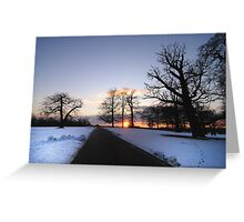 Woburn Landscape  Greeting Card