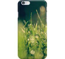 Wet Grass iPhone Case/Skin